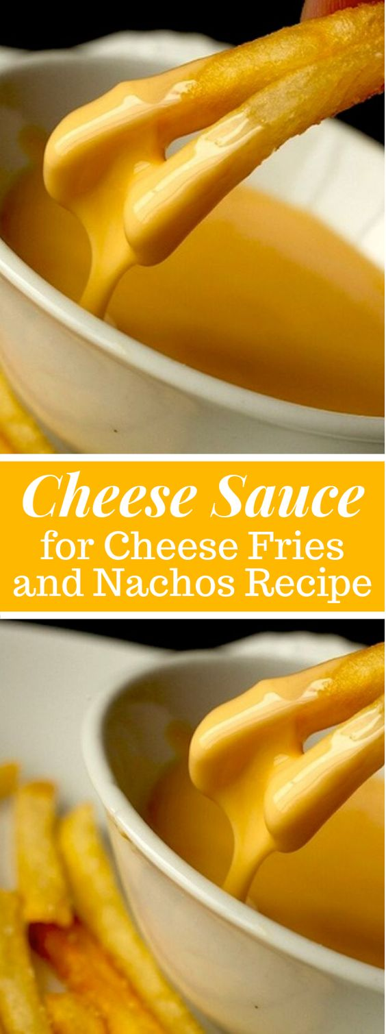 Cheese Sauce for Cheese Fries and Nachos Recipe #dinner #lunch