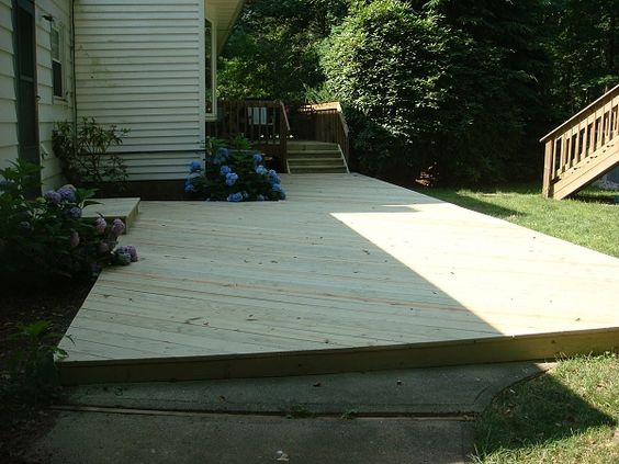 How To Build A Floating Deck Over A Concrete Slab   Google Search | Outdoor  Inspiration | Pinterest | Floating Deck, Concrete Slab And Concrete