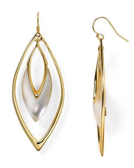 Alexis Bittar Lucite Orbiting Drop Earrings