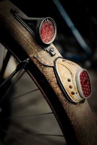 Those Vintage SPARKLES on the Old Bike are Worth a Pretty Penny Themselves!