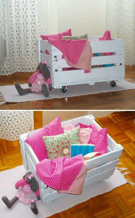 Organizador de juguetes decoraci n con reciclaje pinterest - Decoracion con reciclaje ...