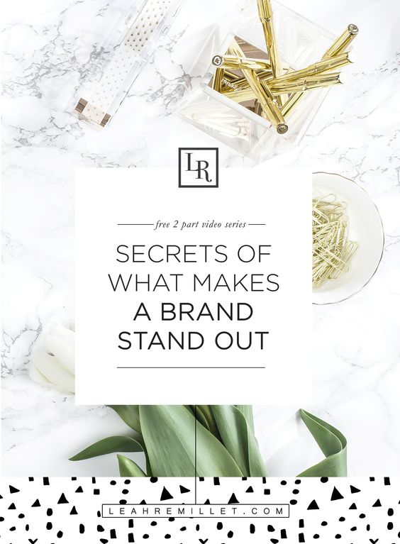 Loved this 2 Part Video Series with a free Brand Audit Download on Brand Development. Designer Ashlee Proffitt shares her branding tips for creating consistency, Standing Out and having more than just a logo. It's a must Watch for any Brand DIY GirlBoss!