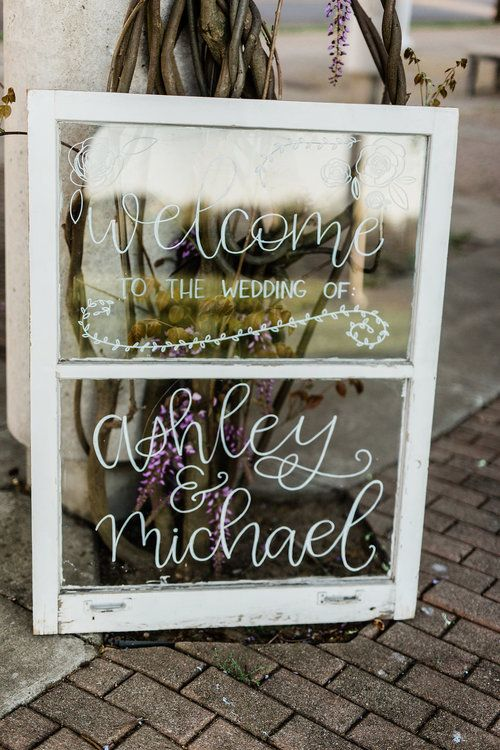 Welcome To Our Wedding Sign Rustic Wedding Antique Window Frame Rustic Wedding Signs Chalkboard Wedding Wedding Signs