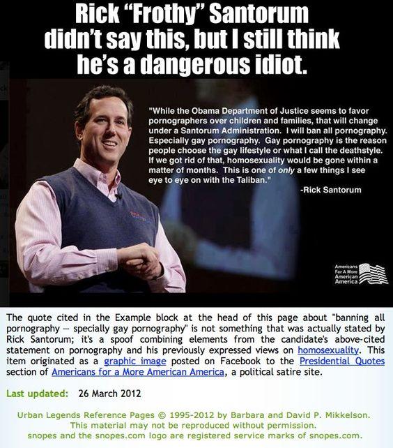 Santorum, take 2.