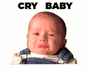 CRY BABY (animated) | HUMOR & INTEREST | Pinterest | Cry ...