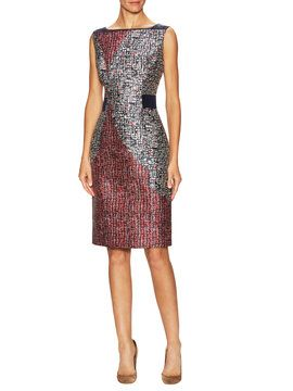 Printed Sheath Dress from Classic Staples: Designer Dresses on Gilt