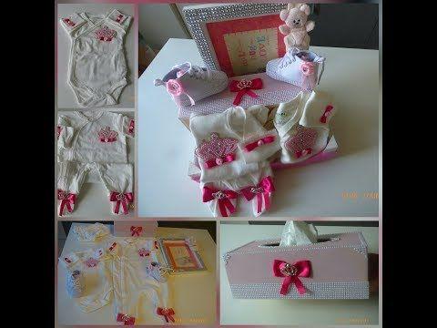 اروع هدية المولود الجديد ممكن تعمليها بنفسك و النتيجة روعة روعة Personnalise Cadeau De Naissance Youtube Gift Wrapping Gifts Wrap