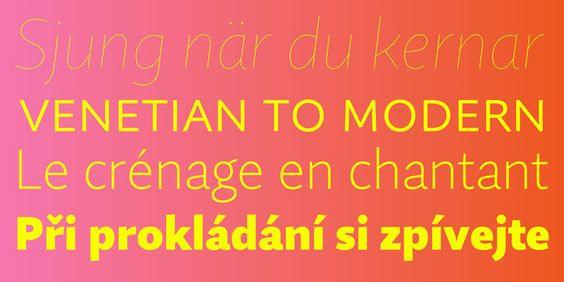 * Quire Sans | Slanted - Typo Weblog und Magazin