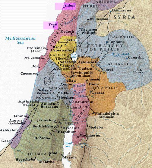 History of Sidon