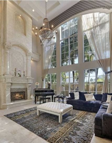 52 Ideas Living Room Luxury Mansions Ceilings Mansion Interior Mansion Living Luxury Homes