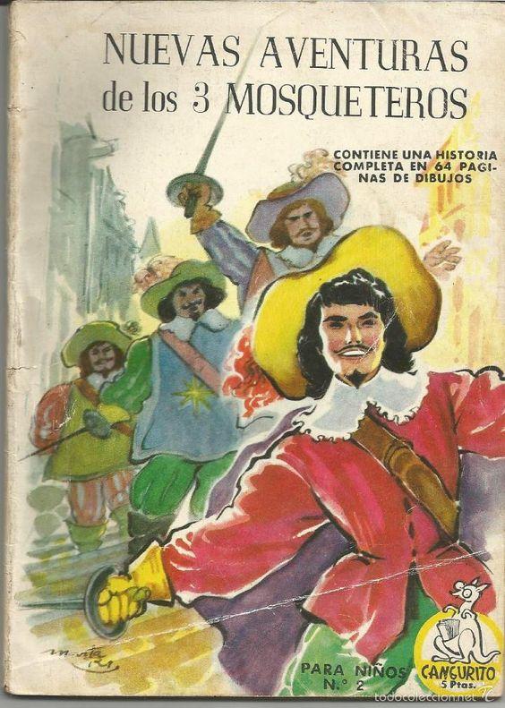 CANGURITO  EDITORIAL MATEU Nº 2 NUEVAS AVENTURAS DE LOS 3 MOSQUETEROS