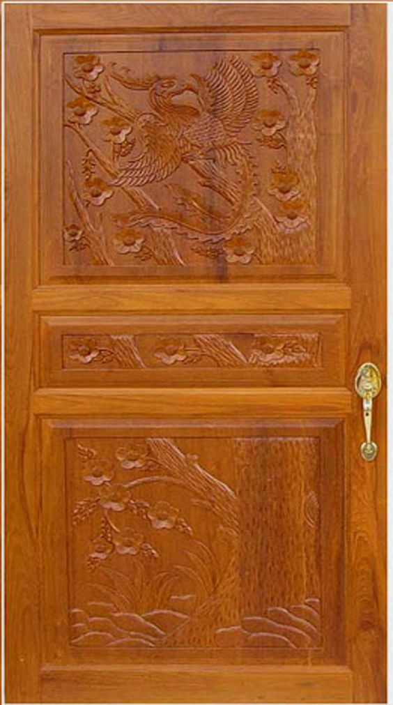 House front door design kerala style front door designs for Door design in wood images