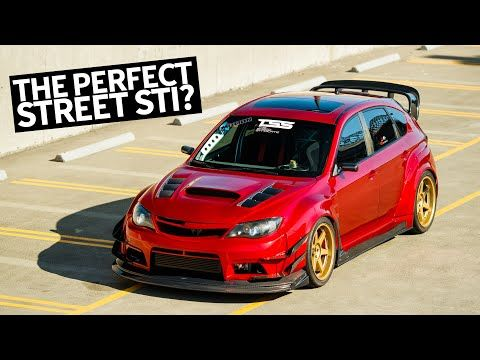 Canada S Ultimate Subaru Impreza Sti Street Track Car Build With Nsx Candy Red Paint Youtube