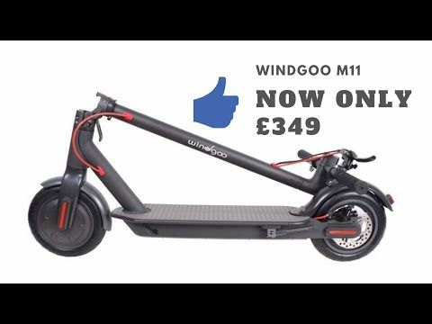 Simple Compact And Fast The Windgoo M11 Electric Scooter Will