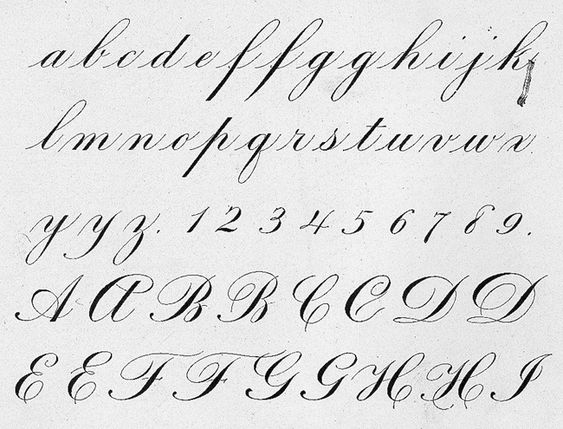 Engraver s script instruction calligraphy a to z