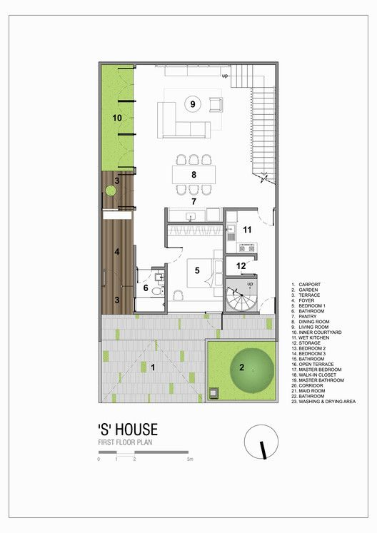 Gallery Of S House Simple Projects Architecture 1 Cottage Floor Plans Modern House Floor Plans Bedroom House Plans