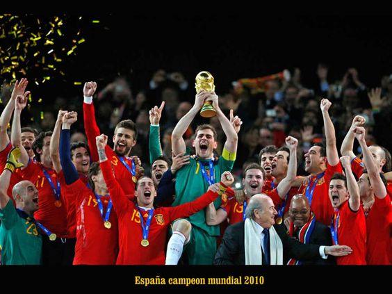 España, selección campeona del Mundial de 2010, ¡Grandes!