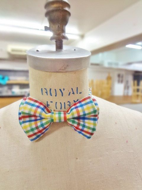 Colorful Bow Tie by BowMeAwayByAlexandra on Etsy