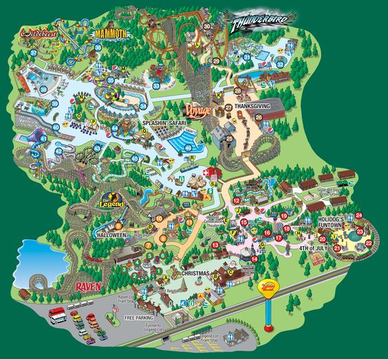 World Parks and Maps on Pinterest