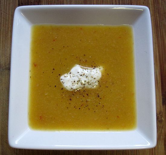 Dukan Butternut Squash Crock Pot Soup