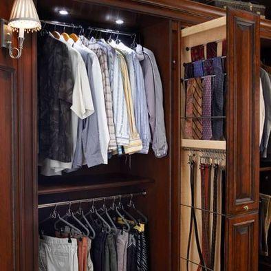Belt storage belt holder and hat racks on pinterest for Hat organizer for closet