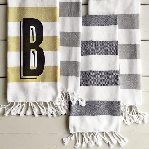 Hammam Stripe Hand Towel, West Elm