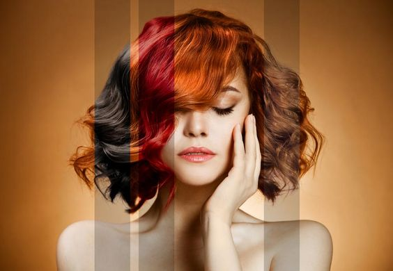 Mixing Hair Dye