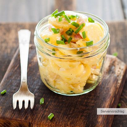 ALDI Nord - Rezept - Lauwarmer Kartoffelsalat