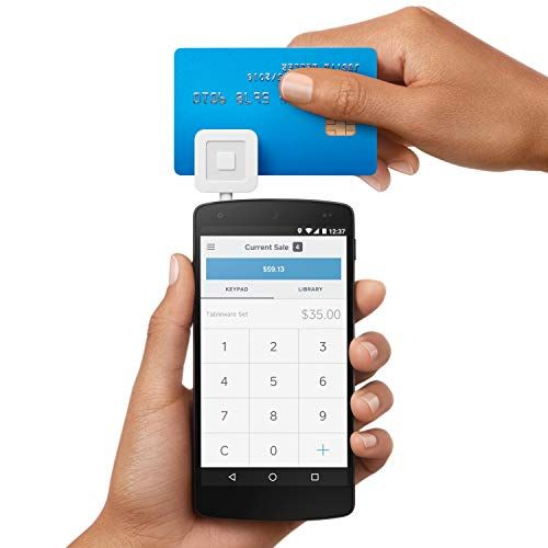Square Reader For Magstripe With Headset Jack Mobile Credit