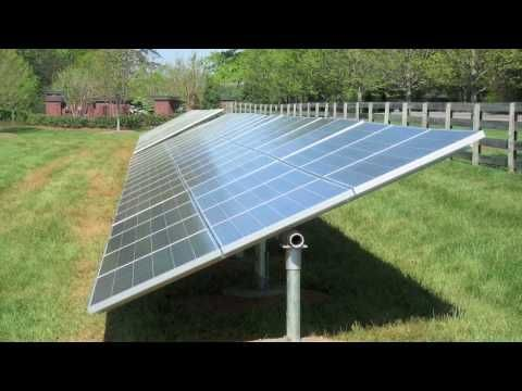 How To Build A Solar Tracker Diy Solar Panel Sun Tracker Youtube Solar Panels Best Solar Panels Photovoltaic Panels