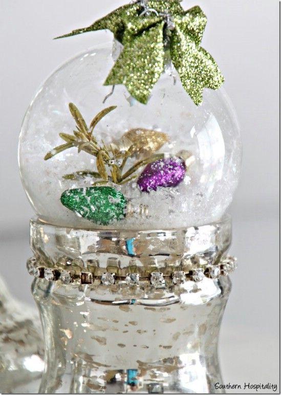 Bulb Filled Ornaments
