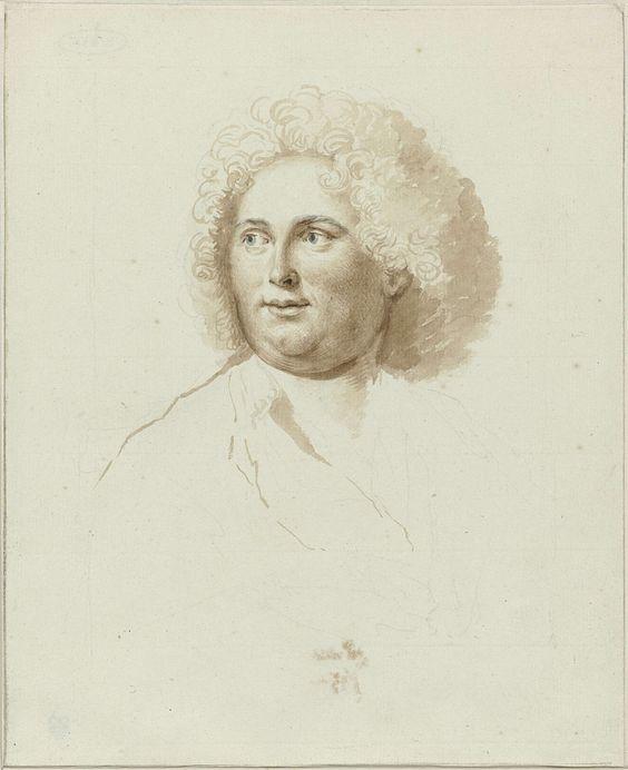 Anonymous | Portret van de schilder Dirk Valkenburg, Anonymous, 1685 - c. 1771 |