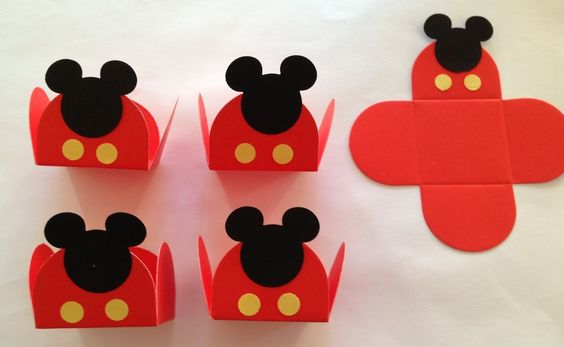 Forminha - Mickey - Ideia:
