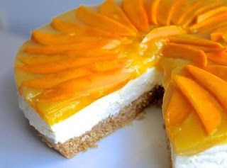 My Cute and Lovable Space♥: No-Bake Mango Cheese Cake Recipe
