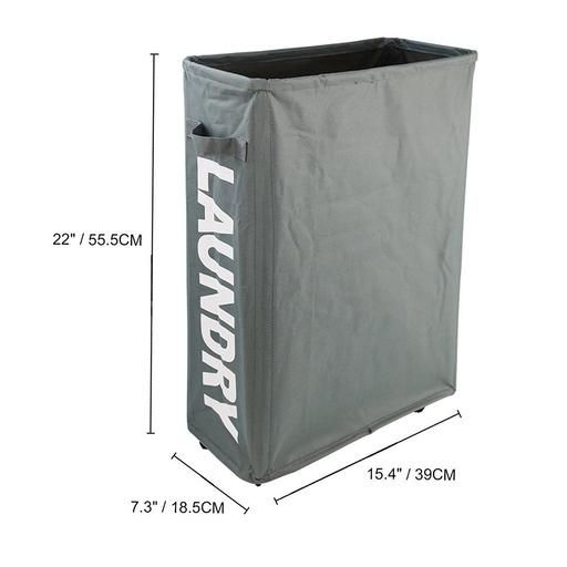 Rolling Laundry Cart Waterproof Laundry Hamper Detachable With