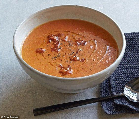 Sundried tomato pesto, Creamy tomato soups and Tomato pesto on