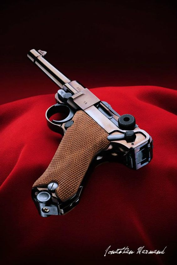 I've shot one of these at the range.... Luger P08 - We have my father-in- law's, that he brought home from WWll