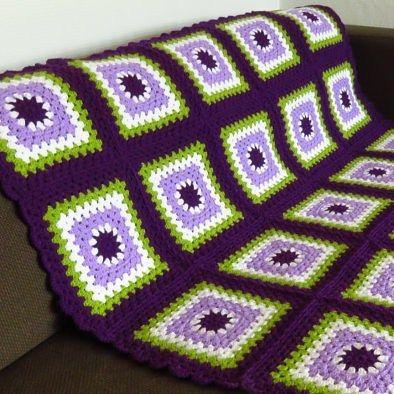 "Purple Throw Blanket 45""x45"" (115cm x 115cm) Available to buy now from my Etsy store (link in my bio)  #crochetblanket #throwblanket #afghanblanket #crochetafghan #livingroomdecor #livingroomideas #homedecor #homedesign #interiordesign #sofablanket #sofathrow #livingroominspiration #livingroomthrow #phoenixsmiles #purplethrow by phoenix_smiles"
