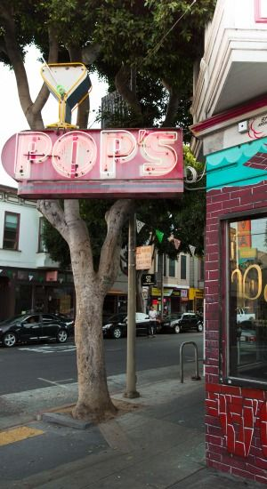Pop's San Francisco: exterior -  Designer: zero ten design -  Image courtesy Molly DeCoudreaux