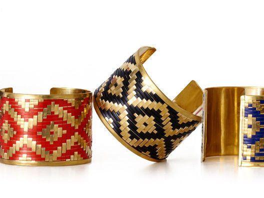 Textured Tribal Cuff