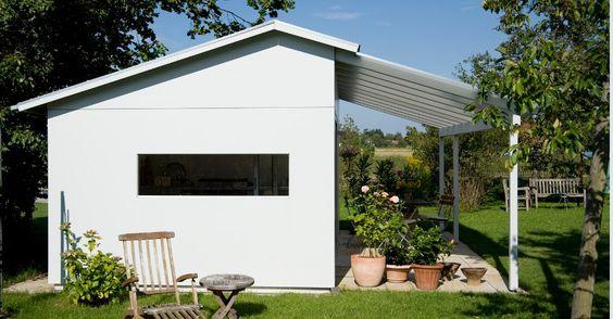 Design-Gartenhaus Individuelle Planung als Schwörer Gartenhaus und Unikat als Gartenlaube - Schwoerer Gartenhaus