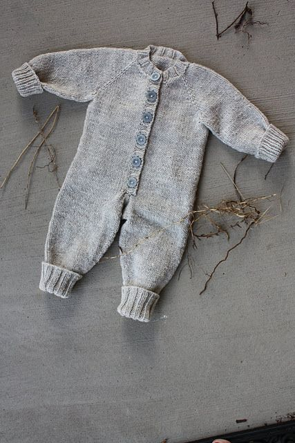 Union Suit Frontier Dreams Free Baby Knit Pattern Af