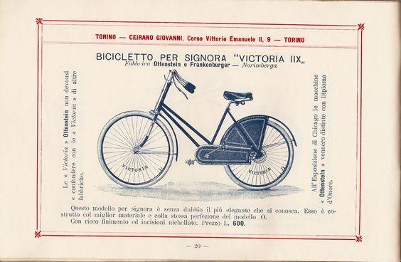 Biciclette & Decadence: Catalogo Ceirano 1894