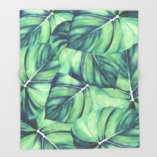 Palm, Tree, Leaf, Print...
