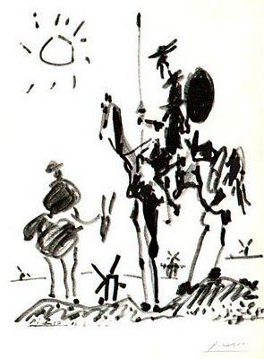 No andes, Sancho, desceññido y flojo, que el vestido descompuesto da indicios de ánimo  deslavazado.  Miguel de Cervantes