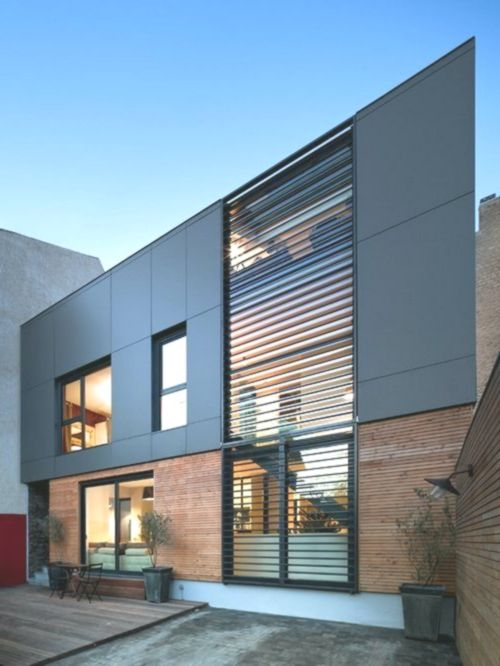 26 Modern Small Commercial Building Facade Design Facade Design Small House Design Architecture Facade Architecture
