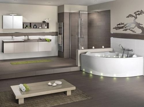Beige: Bad Design Ideen Badezimmer Modern Beige Grau bad design ...