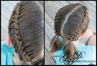 Girly Do's By Jenn: Cage Braids