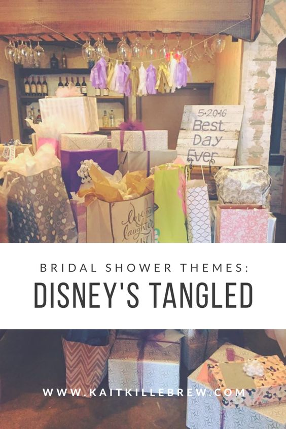 Bridal Shower Ideas | Disney Wedding | Tangled Wedding | Tangled Wedding Shower | Rapunzel