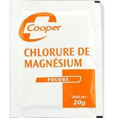 Qu'est-ce qui coûte deux euros en pharmacie et soigne presque tout ? Le chlorure de magnésium ! Contre la fatigue, le manque de tonus, la constipation, l'irritabilité, les angines blanc…